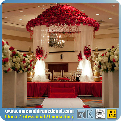 2013 New indian wedding mandap structure with drapery