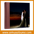 Acrylic cover flush mount wedding photo albums For Professional Photographer