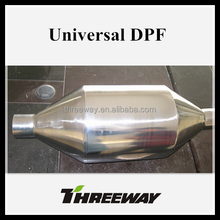 Universal diesel particulte filter catalytic converter for truck/bus/SUV