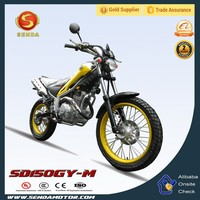 Powerful 150CC Engine Water Cooled Dirt Bike Euro III HyperBiz SD150GY-M