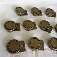 China supply small cap buckle for strap back hats
