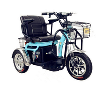 High quality 3 wheel electric tricycles electric scooter with tricycle cargo box