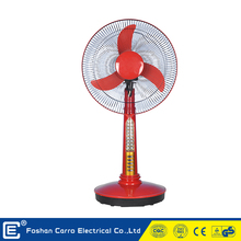 Certiticated manufacture superior quality solar outdoor charging table fan with light for home