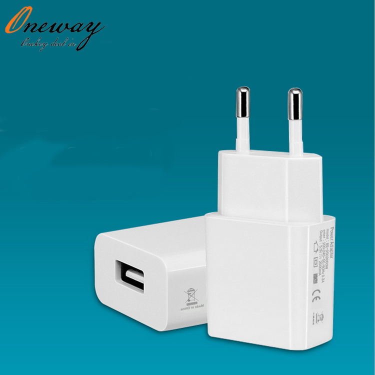 universal 5V 2A phone charger EU plug power adapter usb home charger