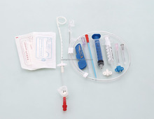 CE/ISO13485/FDA Medical disposable chest and intraperitoneal drainage catheter