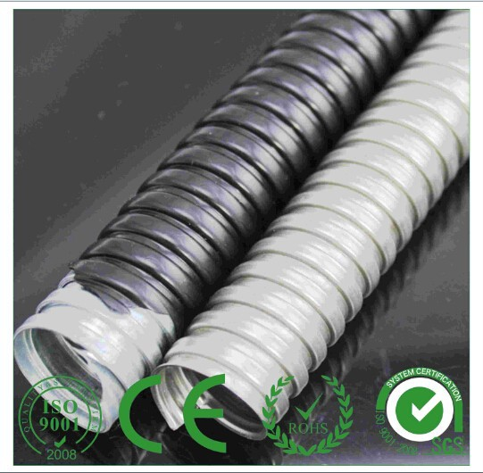 PVC coated rigid Galvanized metal