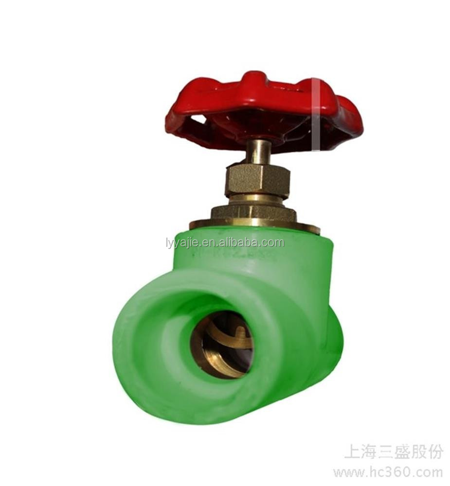 hot sale All types of ppr plastic water valve for drinking