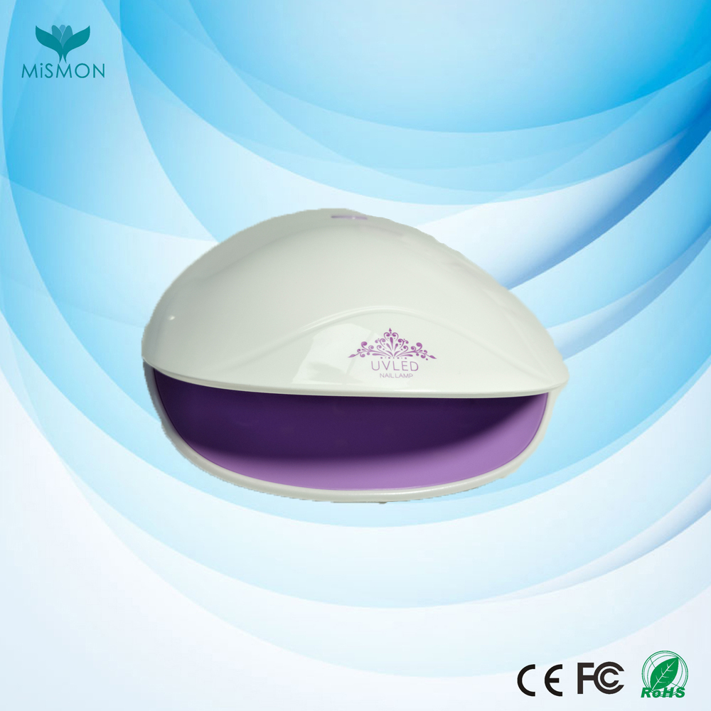 2017 new arrival factory design double light source CE ROHS mini 12W led uv nail lamp for home use