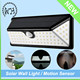 IP65 Waterproof Outdoor Washer Motion Sensor Solar LED Wall Light