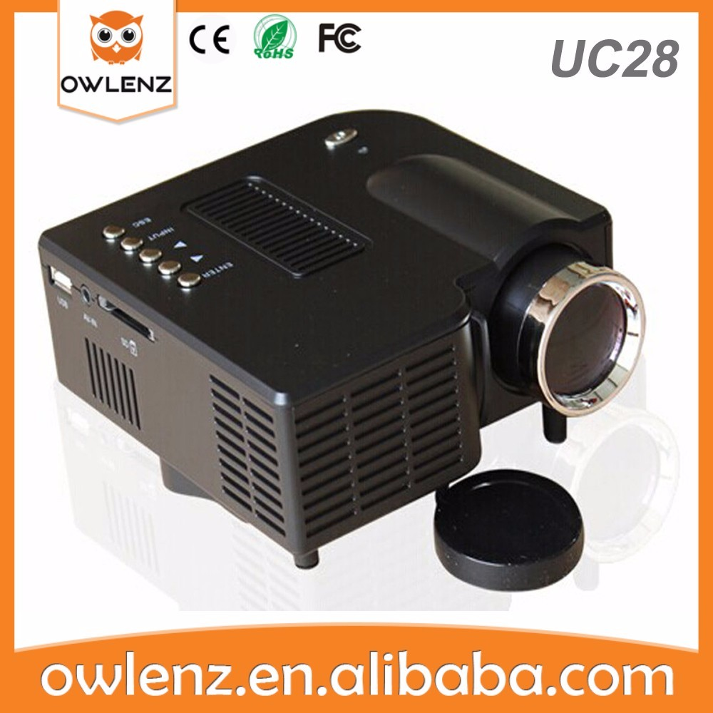 cost UC28 mini ultra short throw projector for video games ps3