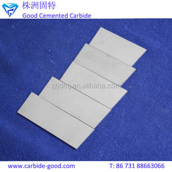YG6 Tungsten Carbide Wear Plates for Cutting Tools