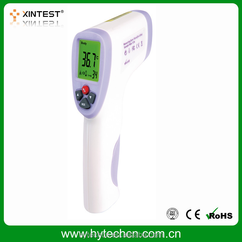 Non contact Body forehead Infrared Thermometer with fever alarm