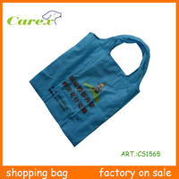 High Quality Wholesable Reusable Recycle Polyester Shopping Bag Foldable