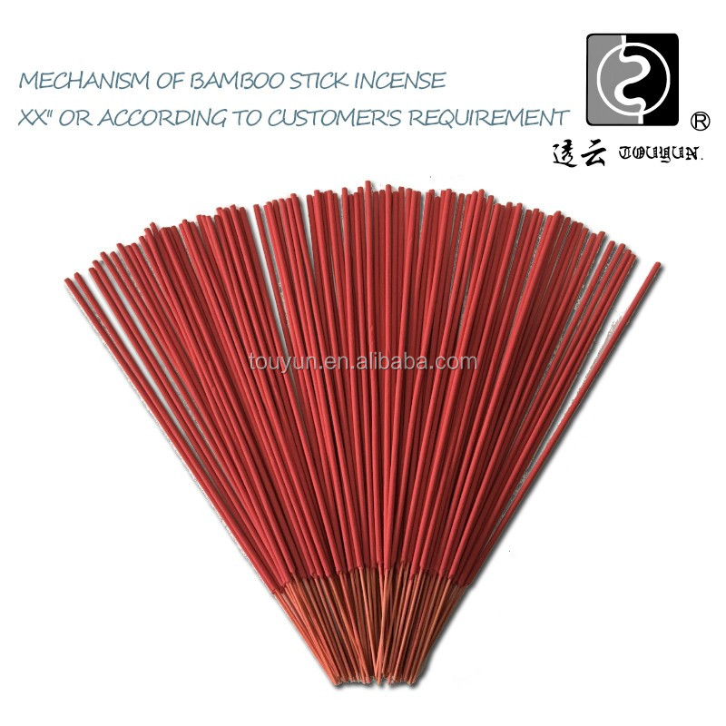 Good quality round bamboo incense sticks in bulk Processing Customized