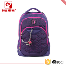 wholesale school canvas mochilas bag for girls