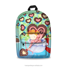 High quality colorful Kindergarten cute cartoon character kids school bags