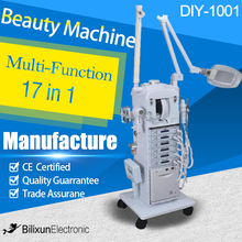 professional 17 in1 multifunction beauty saon facial equipment DIY-1001