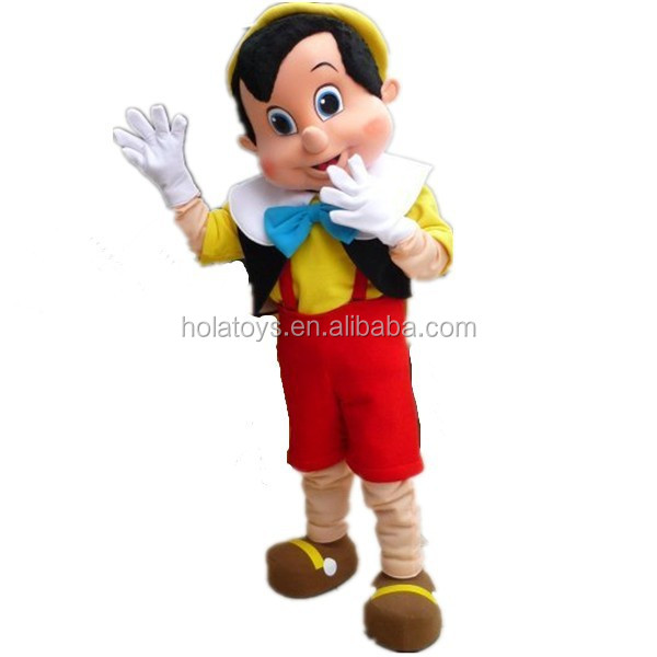 Hola The Adventures of Pinocchio costume/adult pinocchio costume