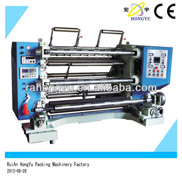 High Quality plastic film slitting and rewinding machine
