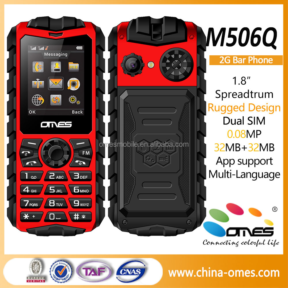 New Arrival X506Q OMES mobile cheap price rugged small price mobile phone