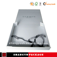 shipping cost down gift packaging folding box