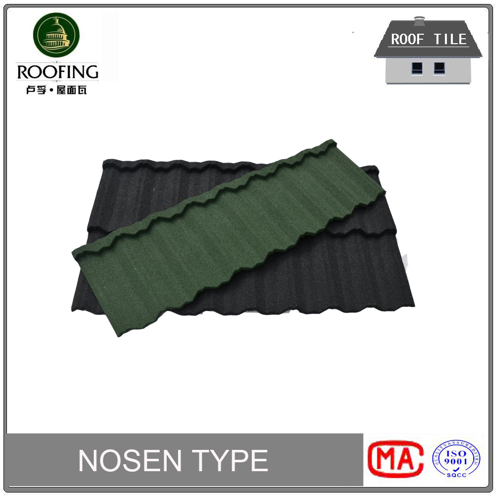 High quality colorful stone metal roof tile,Stone Coated Metal Shingles ,stone-coated metal roofing