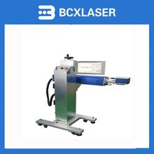online operate 30W fiber laser marking machine with EZcad software with CE