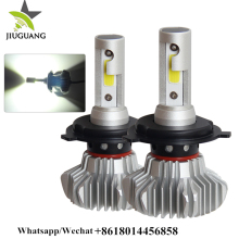 Wholesale Price 36W Car Light Bright Fanless 6000lm COB LED Headlight,led headlight bulb h4