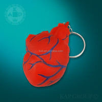 miniature plastic heart models,heart keychain for kids