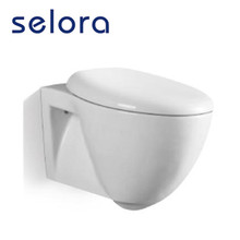 promotional concealed cistern ceramic wall mounted toilet wc tube for bathroom sanitary