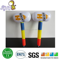Stock Promotional Inflatable hammer plastic hammer PVC Inflatable Hammer Toys