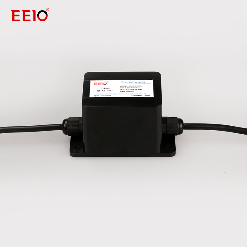 20W Buried lights transformer High Performance Molded Case Waterproof Transformer Supplier IP67 Waterproof Grade