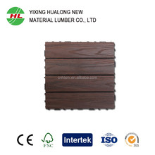 Anti-UV Anti-corrosion wood plastic composite decking wpc outdoor decking