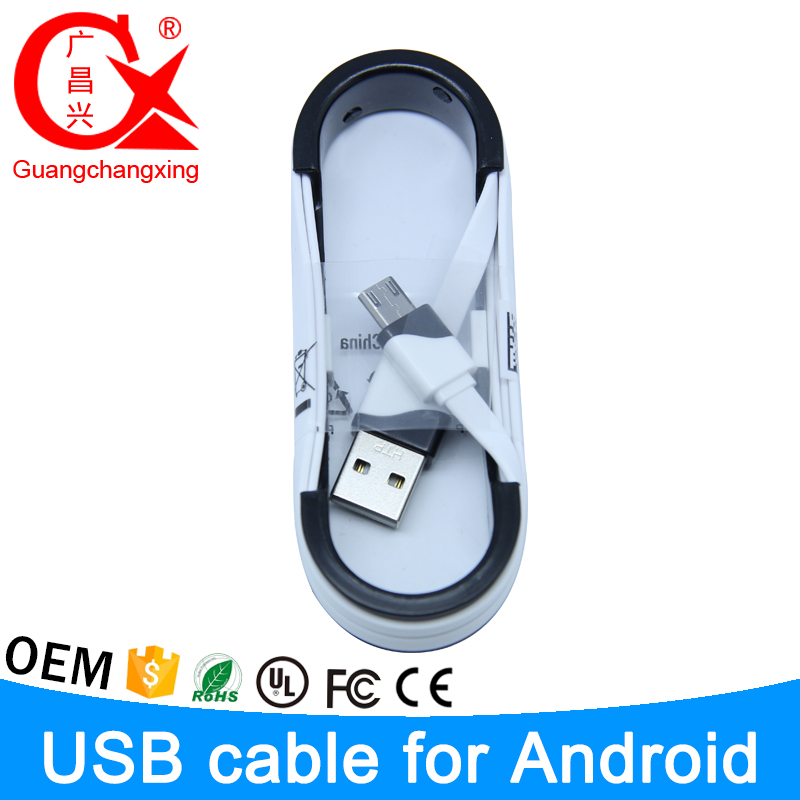 1m supper good material colorful 5pin driver download data l-shaped micro usb cable for android