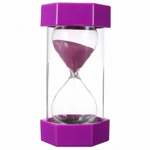 Chinese wholesale Glass Blowing Hourglass Sand Timer for Business gifts