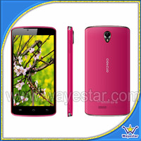 New 5 inch Android 4.2 Smart Phone MTK6572 Dual Core Pink Color for Lady