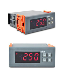 AC 220V Digital LCD Air Humidity Controller Measuring Range 1% ~ 99% with Sensor