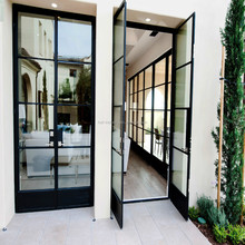 Zinc Coated Steel Window And Door Grill Pictures Modern Iron Window Door Design