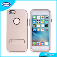 Slim armor defender mobile phone back case cover for iPhone 6
