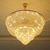 6 lights or 8 lights or 12 lights brilliant empire big crystal chandeliers
