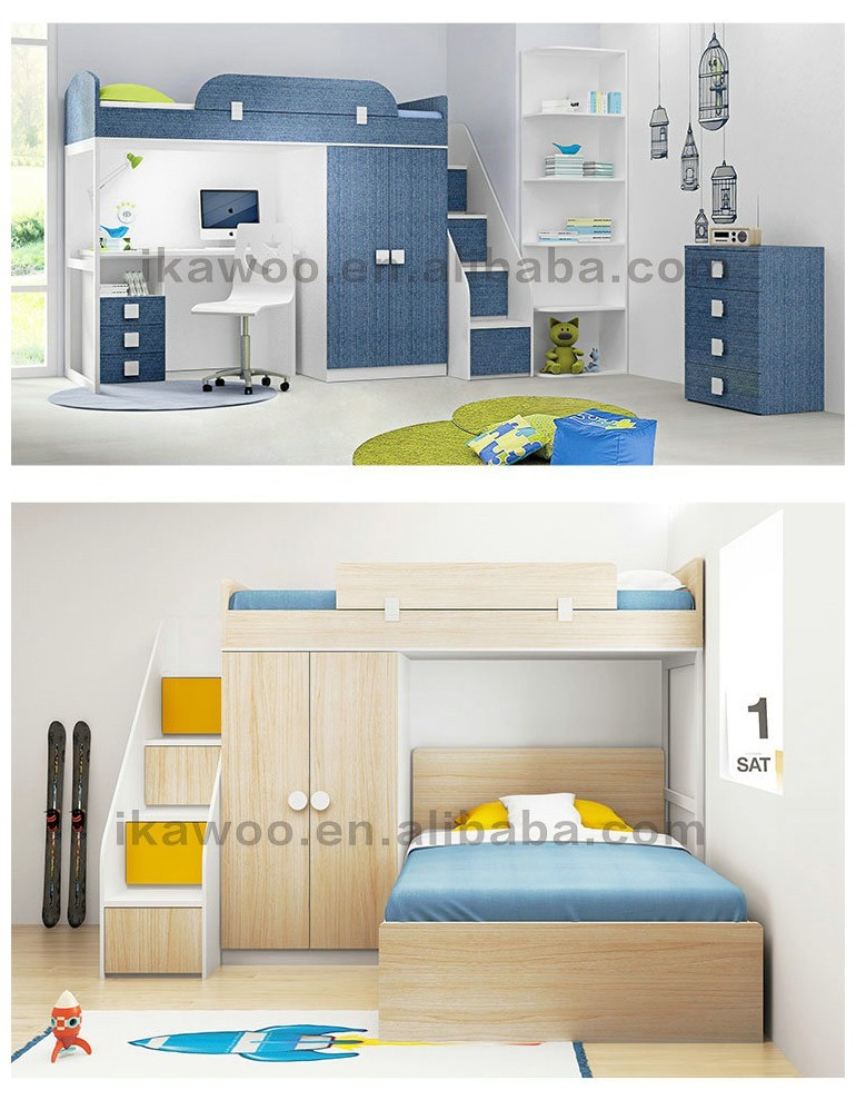 Ikawoo Ikazz Pink Kids Loft Bunk Beds Sets For Sale Buy