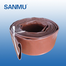 European Popular flexible drain lay flat agricultural water hose