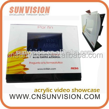 video advertising card video picasa with CE FCC CB EMC LVD MSDS certification
