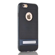 2 in 1 Super creative kickstand TPU Bumper case for iphone6