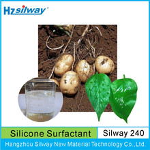 Manufacture high class Silway 240 surface active silicone spray oil foliar sticker CAS NO. 134180-76-0