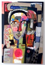 Artist Manually Sexy Woman Figure Portrait painting abstract girls colorful face beautiful lady oil painting with high quality