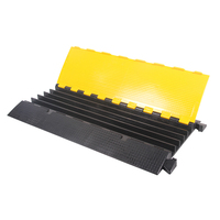 Rubber Cable Tray 0.9M, 2/3/5 Channel Cable Cover
