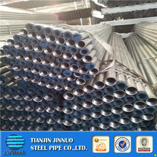 hot dipped galvanized steel pipe threading with socket/plastic cap ASTM A53 Standard
