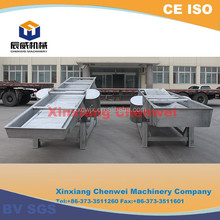Z shape fixed fertilizer belt conveyor