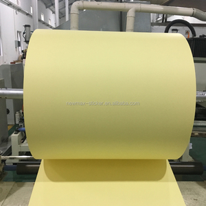 Direct factory yellow silicone coated release paper glassine liner